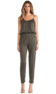 Young, Fabulous & Broke Tippy Jumpsuit in Olive