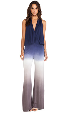 Young, Fabulous & Broke Royce Jumpsuit in Portabello Navy Ombre