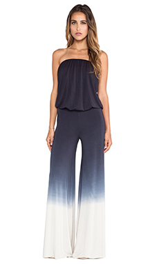Young, Fabulous & Broke Sydney Jumpsuit Ombre in Black