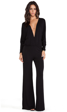 Young, Fabulous & Broke Eaton Jumpsuit in Black