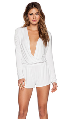 Young, Fabulous & Broke Howell Romper in White