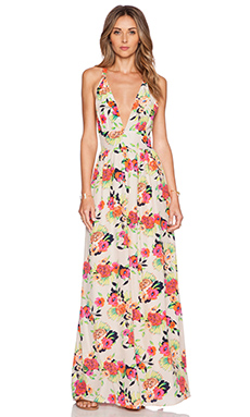 Yumi Kim Enchanted Maxi Dress in Peonies Bloom