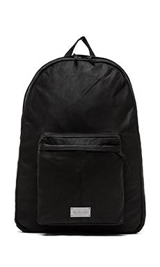 Zanerobe Crosstown Leather Backpack in Black