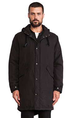 Zanerobe Double Team Parka in Black