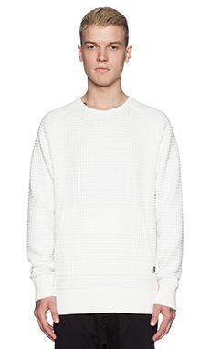 Zanerobe Gridlock Sweatshirt in White