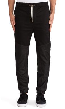 Zanerobe Leather Track Sureshot in Black