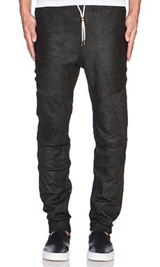 Zanerobe Leather Sureshot in Matt Black