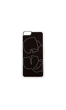 ZERO GRAVITY Besties iPhone 6 Case in Black
