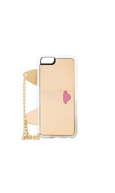 ZERO Cat Clutch iPhone 6 Case in Gold