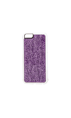 ZERO GRAVITY Haze iPhone 6 Case in Purple Glitter