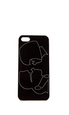 ZERO GRAVITY Besties iPhone 5 Case in Black