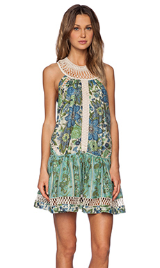 Zimmermann Ceramic Infinity Flip Dress in Splice