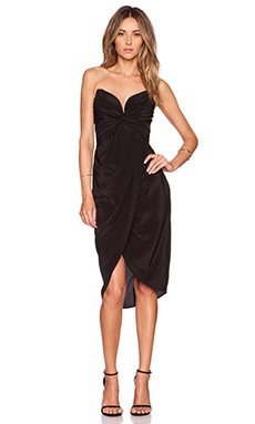 Zimmermann Petal Twist Dress in Black