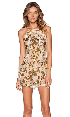 Zimmermann Admire Layered Playsuit in Floral