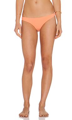 Zimmermann Skinny Pant Bikini Bottom in Peach