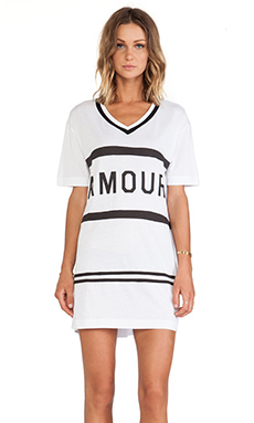Zoe Karssen Amor Tee Dress in White