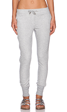 Zoe Karssen Slim Fit Sweatpants in Heather Grey
