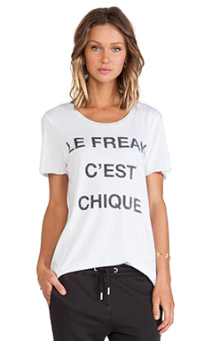 Zoe Karssen Le Freak Tee in White