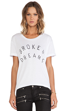 Zoe Karssen Broken Dreams Tee in White