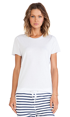 Zoe Karssen Loose Fit Short Sleeve in Optic White