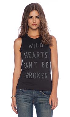 Zoe Karssen Wildhearts Tank in Black