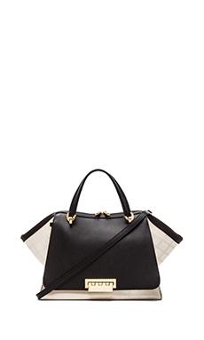 Zac Zac Posen Eartha Soft Double Handle Bag in White