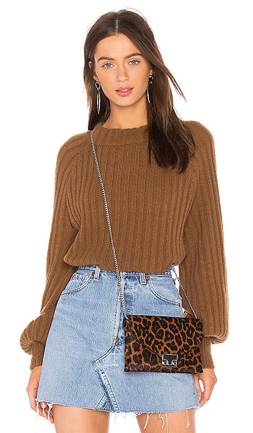 360CASHMERE 360 Sweater Vera Sweater in Cognac. - size L (also in M,S,XS)