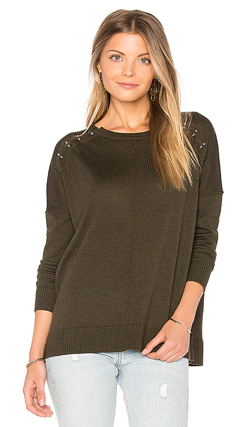 525 america Bar Bell Pullover in Army. - size S (also in L,M,XS)