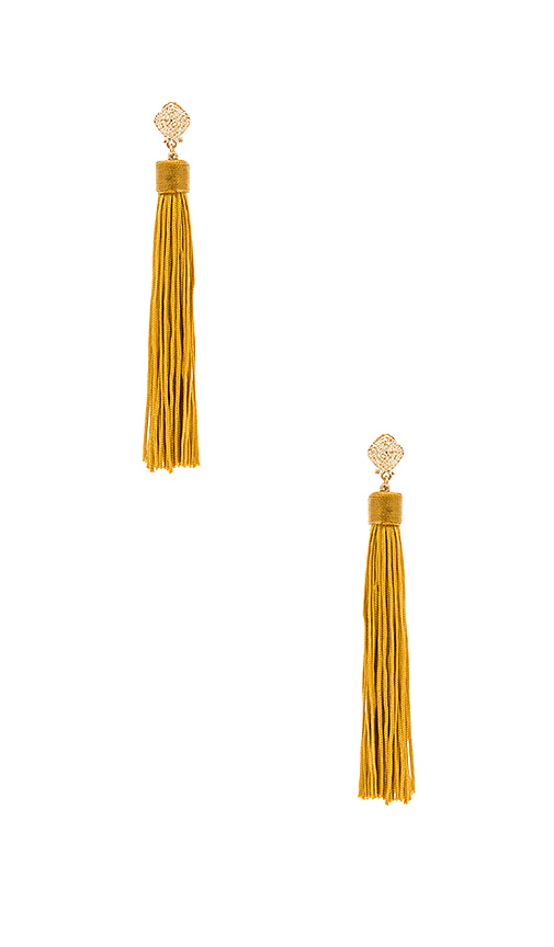 8 Other Reasons Cleo Earrings in Metallic Gold.
