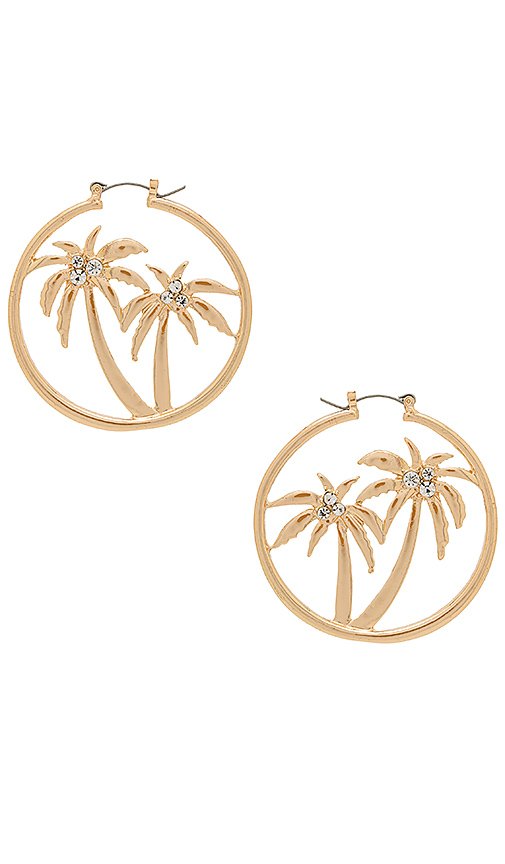 8 Other Reasons Ally Earring in Metallic Gold.