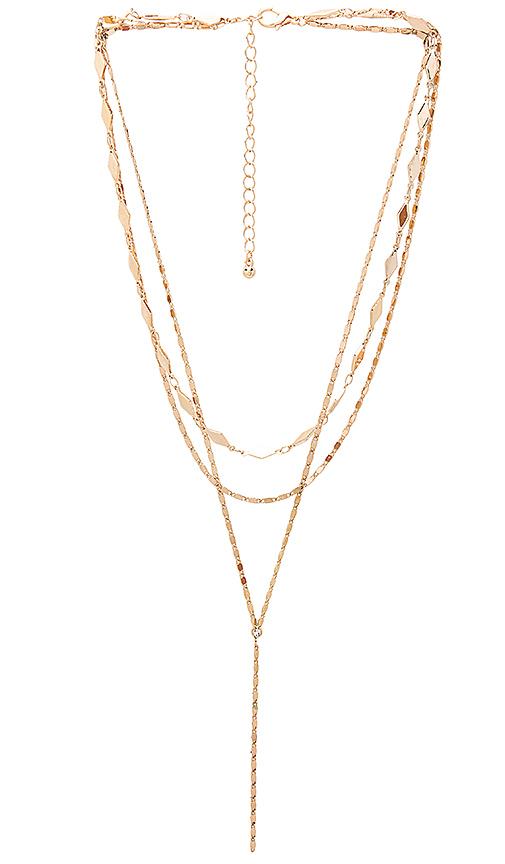 8 Other Reasons Bel Lariat in Metallic Gold