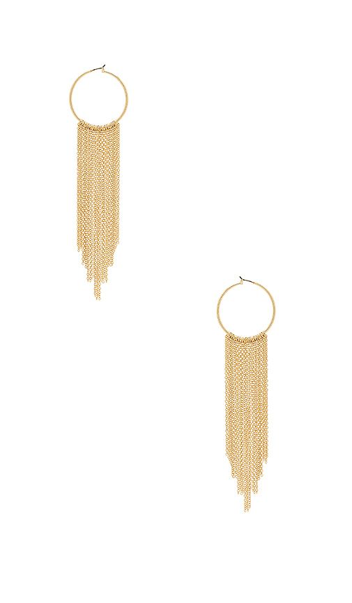 8 Other Reasons Boa Earring in Metallic Gold