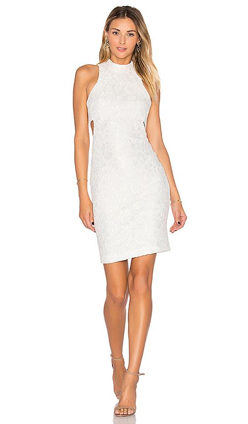 Assali Nina Mini Dress in White. - size S (also in L,XS)