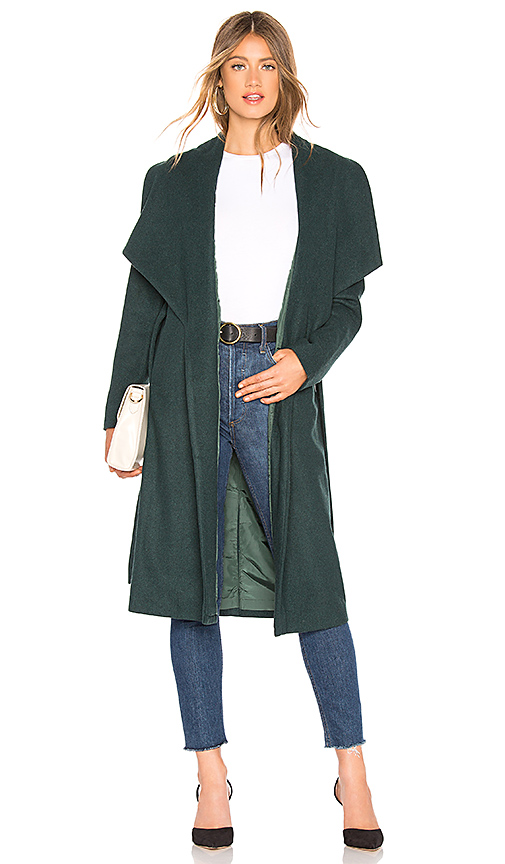 About Us Kelly Coat in Green. Size XS.