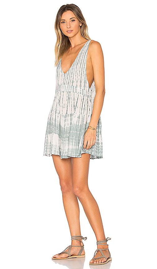 Acacia Swimwear Havana Mini Dress in Blue