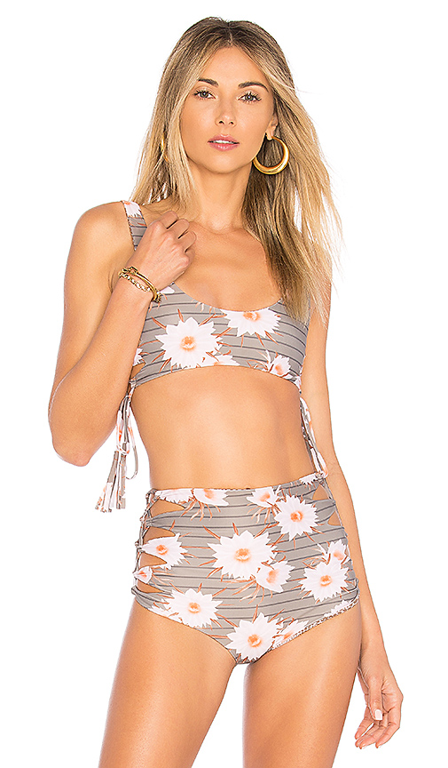 Acacia Swimwear Hunter Top in Taupe