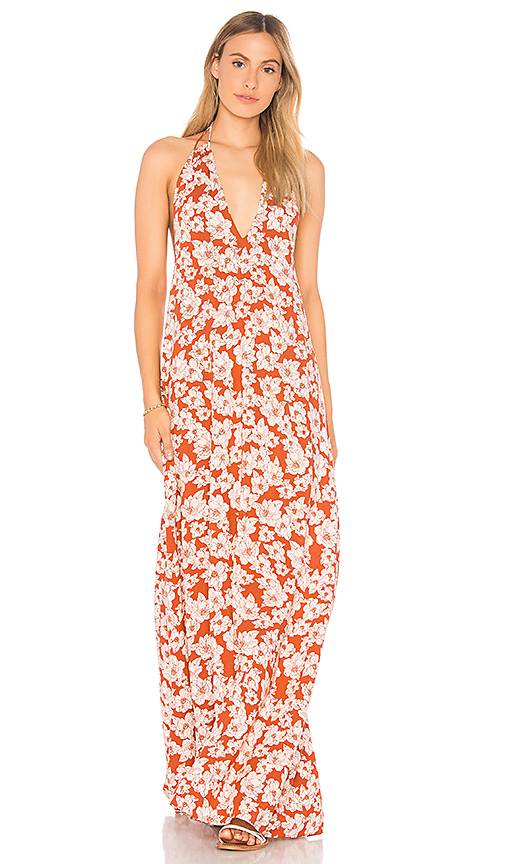 Acacia Swimwear X REVOLVE Samba Maxi Dress in Rust