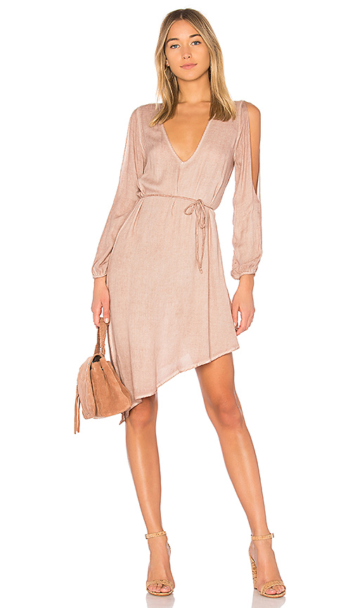 YFB CLOTHING Janelle Dress in Taupe