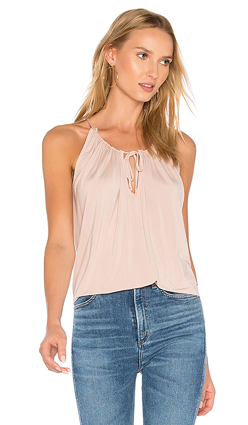YFB CLOTHING Breeze Tank in Pink