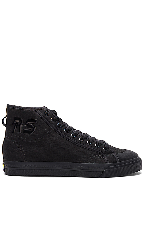 adidas by Raf Simons Spirit High in Black. - size UK 10 / US 10.5 (also in UK 9 / US 9.5,UK 9.5 / US 10)