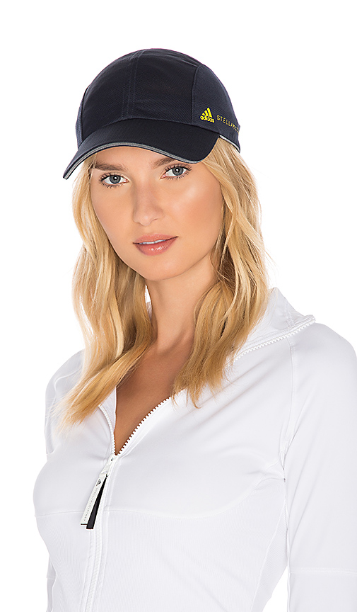 adidas by Stella McCartney Running Cap in Blue.