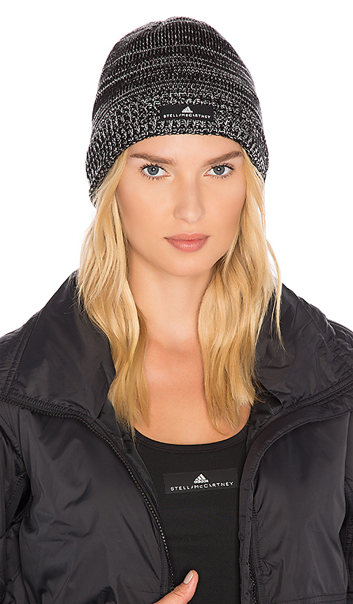 adidas by Stella McCartney Essentials Beanie in Black