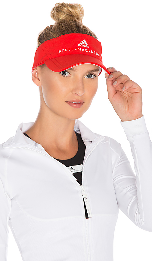 adidas by Stella McCartney Visor in Red.