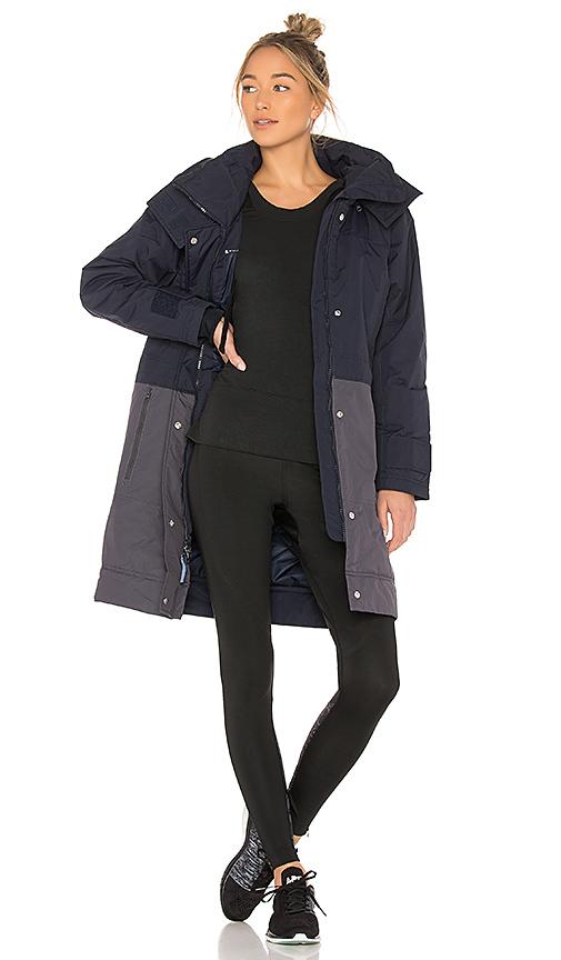 adidas by Stella McCartney Essential Long Jacket in Navy