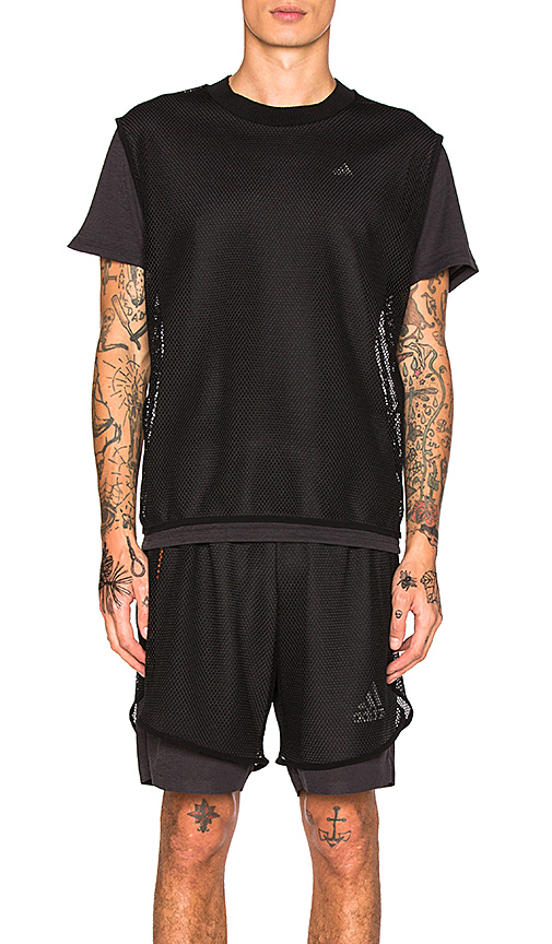 Adidas x Kolor CLMCHL Tee in Black. - size L (also in M)