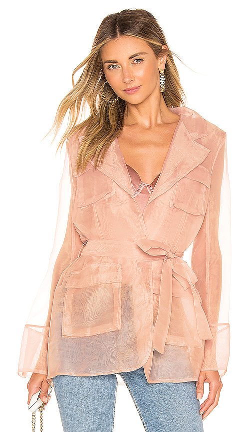 Aeryne Felicie Suit Jacket in Pink. - size S (also in M,L)