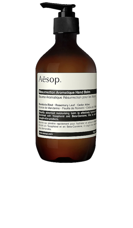 Aesop Resurrection Aromatique Hand Balm.