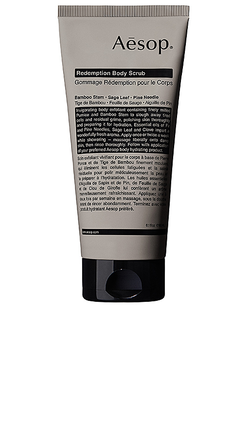 Aesop Redemption Body Scrub.