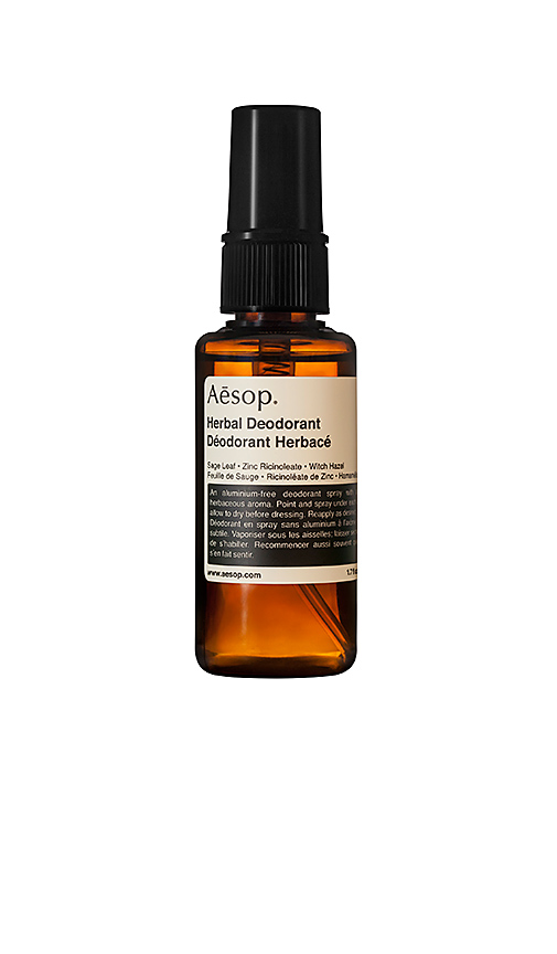 Aesop Herbal Deodorant Spray.