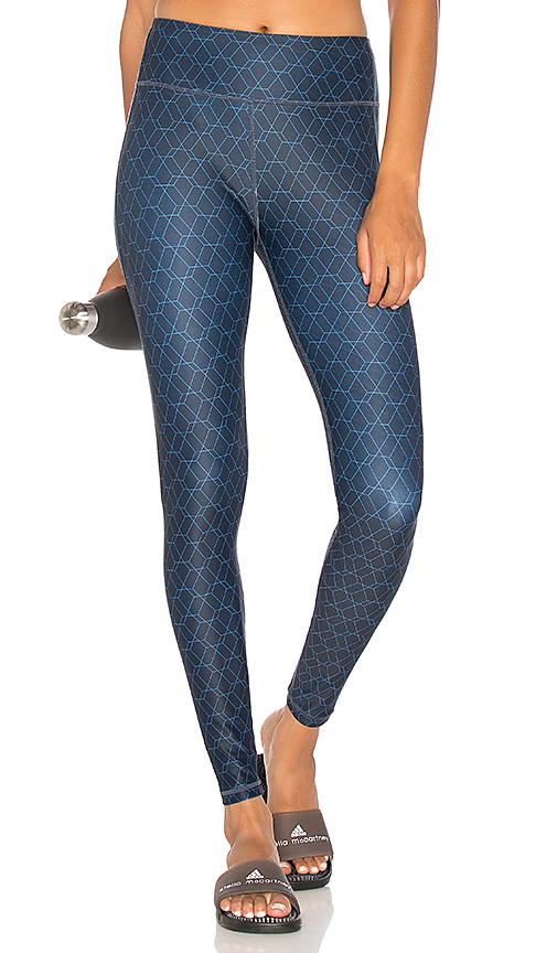 All Fenix Hex Royale Legging in Navy. - size L (also in M,S,XS)